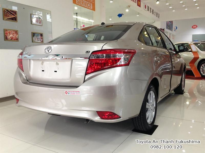 Khuyến Mãi Giá Mua Xe Toyota Vios 2016 1.5E Số Sàn Trả Góp 5