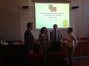 Photo: Seminario di Giuseppe De Nicolao, Pavia (foto grazie a Cristina Barbieri)