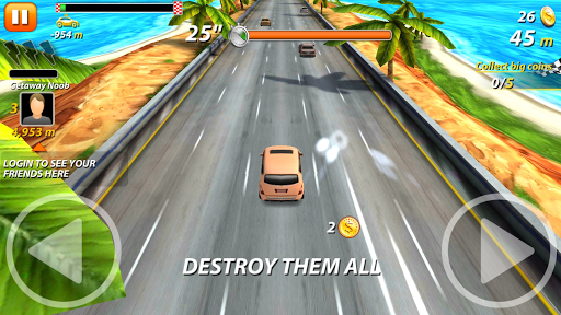 On The Highway - Cars Fighter Racers - screenshot