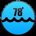 Ocean Water Temperatures Icon