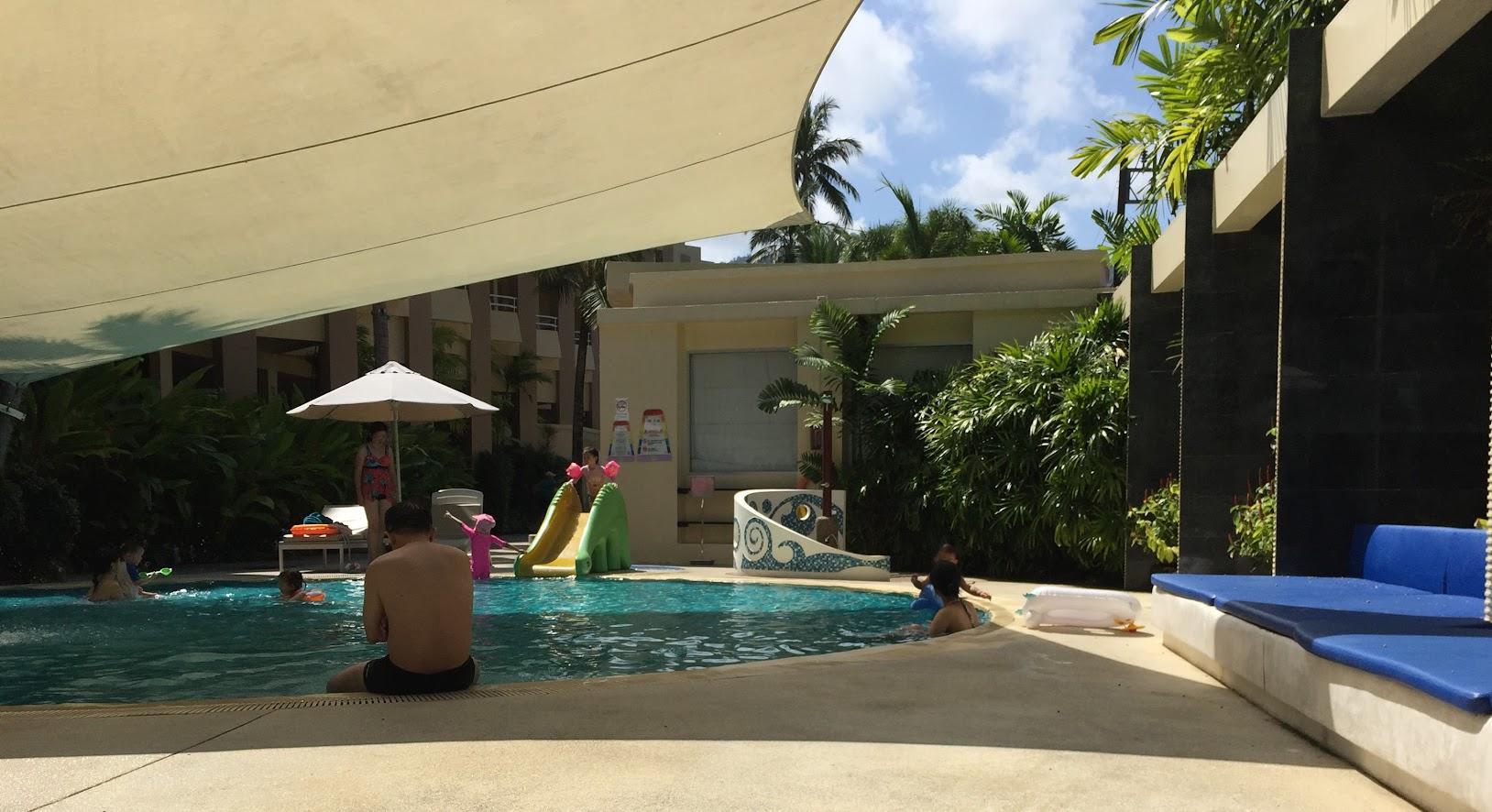ホリデーインリゾートの子ども用プール