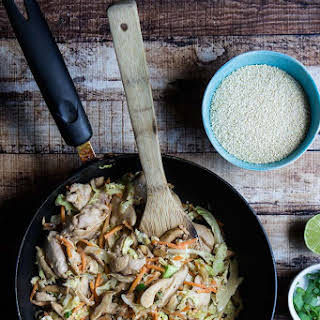 Healthy Moo Shu Stir Fry.