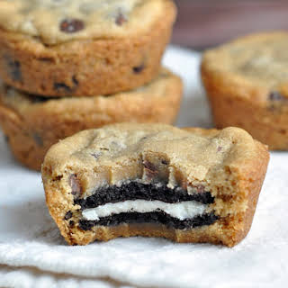 Oreo Stuffed Chocolate Chip Cookies.