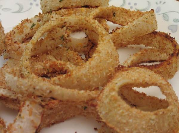 Healthy Baked Onion Rings