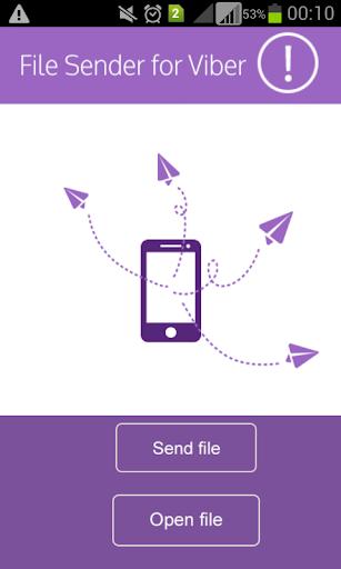 File Sender for Viber demo