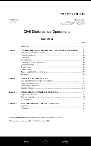 玩書籍App|Civil Disturbance Operations免費|APP試玩