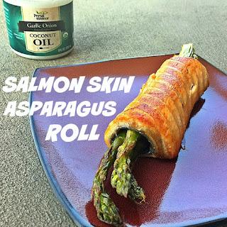 Rollin' With Asparagus & Salmon Skin