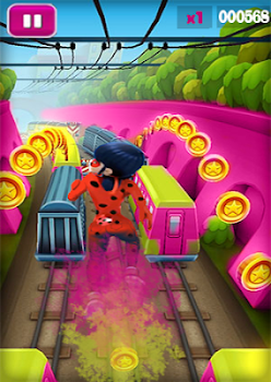 Subway Miraculous Ladybug