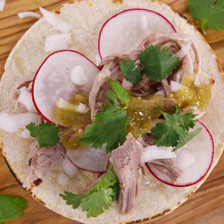 Slow-Cooker Al Pastor Tacos.