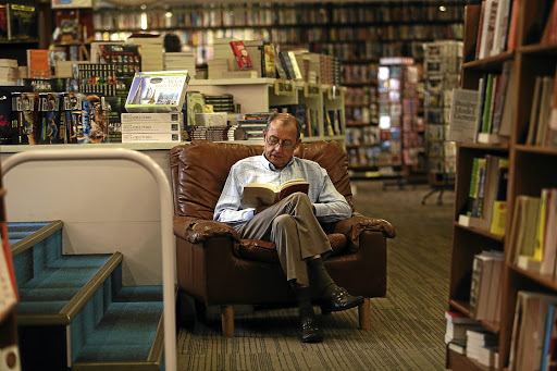 Exclusive Books in Hyde Park, Johannesburg, encourages book lovers to sit back and relax. Picture: Alon Skuy