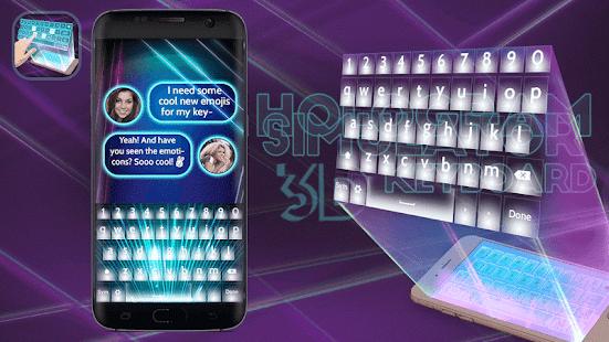 hologram 3d keyboard simulated screenshot thumbnail hologram 3d keyboard simulated screenshot thumbnail