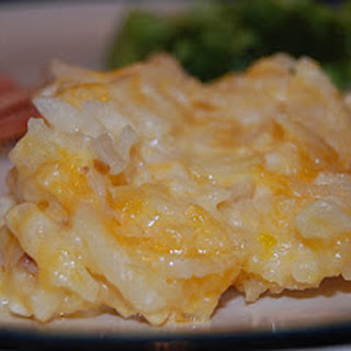 Hashbrown Casserole with a Crockpot Trick