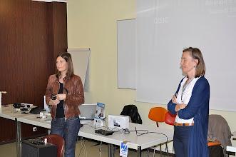Photo: Intervention de Dr Gazzano responsable l'unité audiophonologie....