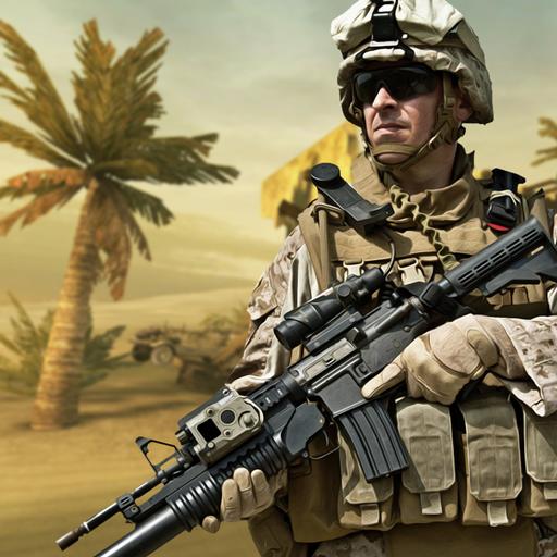 Counter Terrorist Shooting Frontline Strike 3D