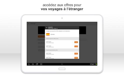Orange et moi, l'espace client- screenshot thumbnail