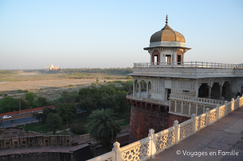 View from diwan i khas