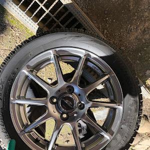 アルトワークス HA36S H30年 4WD MTのタイヤのカスタム事例画像 ちーくんha36s乗りさんの2019年01月15日21:58の投稿