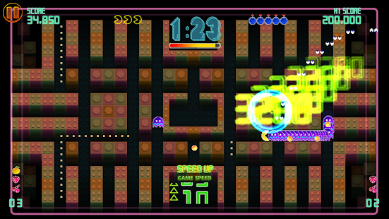 PAC-MAN CE DX - screenshot
