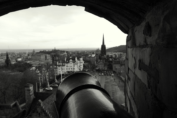 A Cannon in Edinburgh di abi313