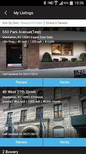 Agorafy New York Real Estate- screenshot thumbnail