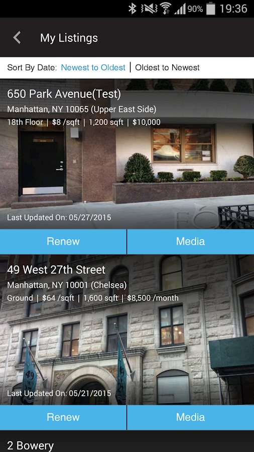 Agorafy New York Real Estate- screenshot
