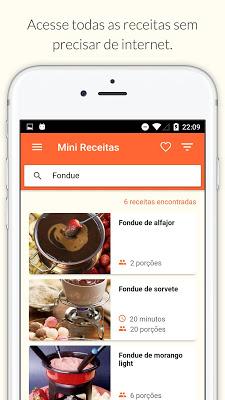 Mini Receita - Receitas fáceis - screenshot
