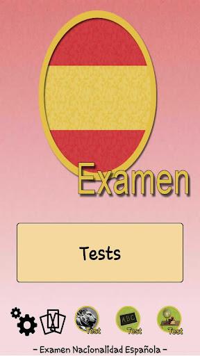 Examen Nacionalidad Española