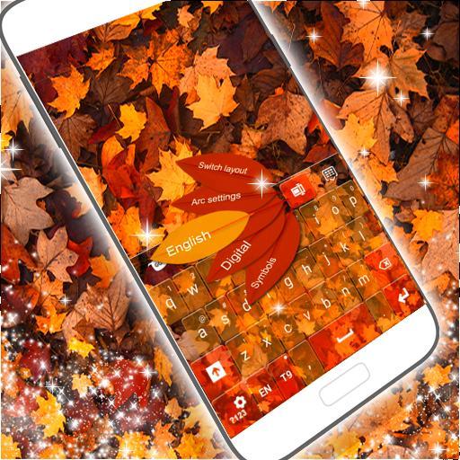 キーボードの秋GO 個人化 App LOGO-APP試玩