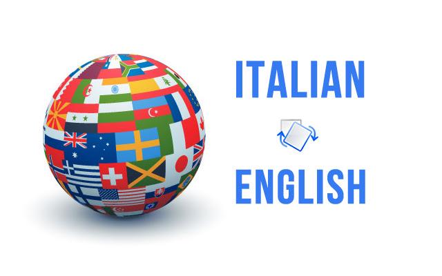 Translate Italian to English