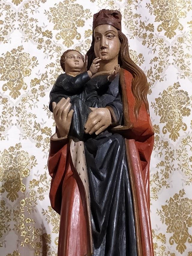 La Virgen del Mar,tras la intervención de Joaquín Gilabert