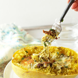 Sundried Tomato and Pesto Stuffed Spaghetti Squash Recipe