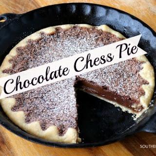 Grandmama's Chocolate Chess Pie.