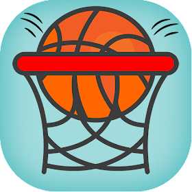 Basketball - Ball and Basket