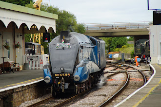 Photo: LNER 4464 BITTERN A4 Pacific Class 4-6-2 locomotive
