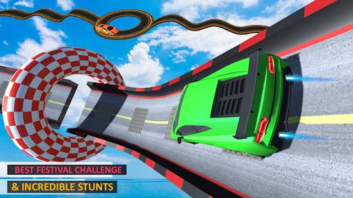 Télécharger Gratuit Mega Car Top Speed: Courses sur piste mod apk screenshots 5