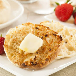 Bread Machine English Muffins.