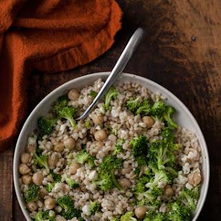 Broccoli Barley Bowl.