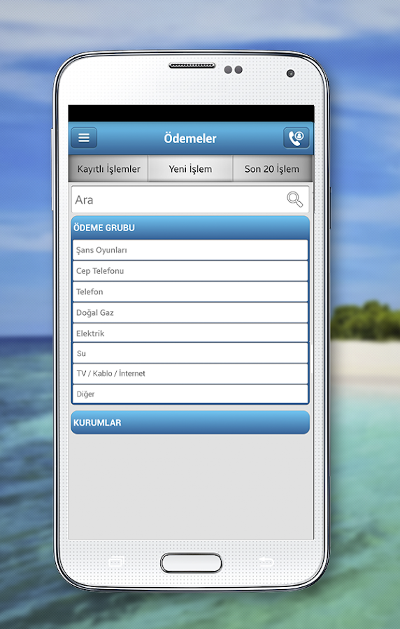 MobilDeniz- screenshot