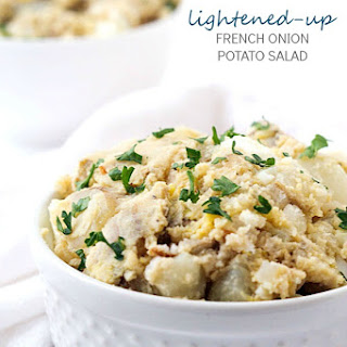 Lightened-Up French Onion Potato Salad