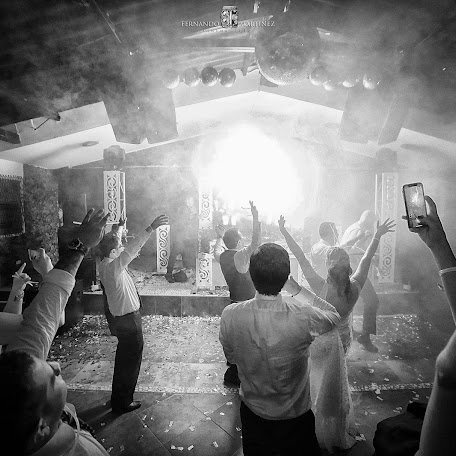 Wedding photographer Fernando Martínez (FernandoMartin). Photo of 07.02.2018
