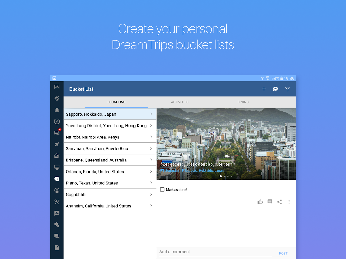DreamTrips- screenshot
