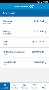HomeTrust Mobile Banking screenshot 2