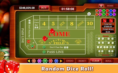 Best Craps App for Android- Play for free, real money or ...