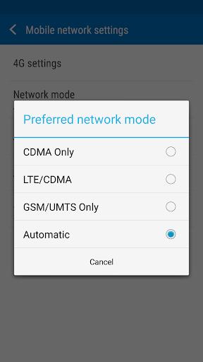 Switch Network 3G 4G