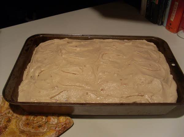 Peanut Butter Cake W/ Pb Cream Cheese Frosting Recipe