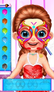 Baby Girl Glitter Tattoo v1.0.1