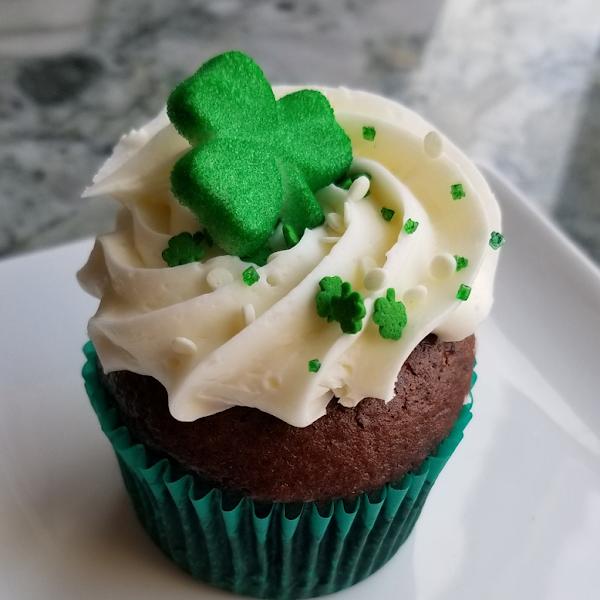 Chocolate cupcake!