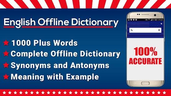 Offline slovník zdarma 2018 - náhled