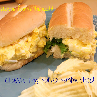 Classic Egg Salad Sandwiches!