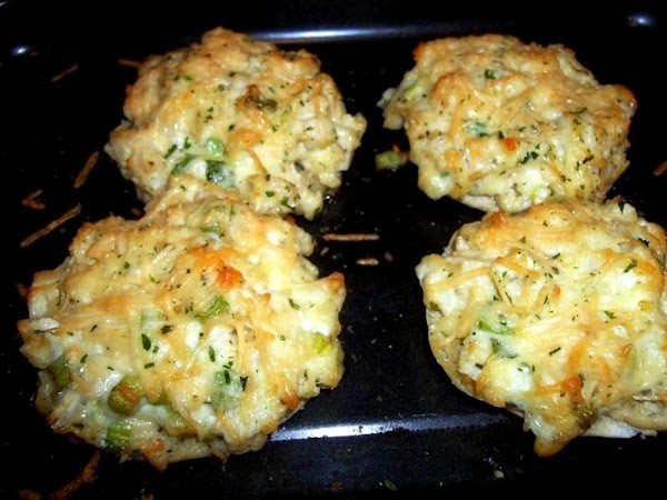 Bake for 15 minutes or until heated through and cheese is golden.  Cut each into...